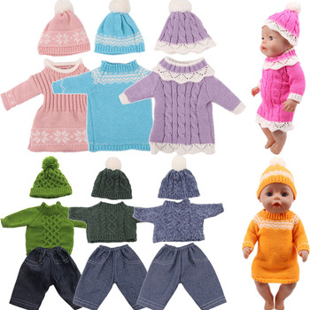 Doll New Sweater Handmade Custom Fit 18 Inch American And 43cm Baby Borns Dolls, Clothes, Our Generation, Gift For Girl
