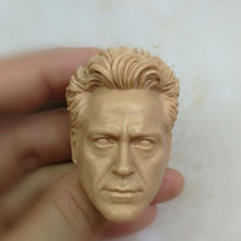 Blank 1/6 Skala Version 3,0 Tony stark Downey Kopf Sculpt Unlackiert Fit 12