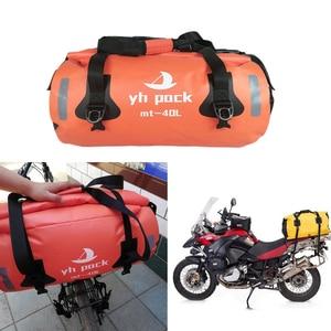 Image 2 - Waterproof Large Capacity Storage Bag Motorcycle Cycling Hiking Bag for Rafting Canoe Boating Trekking Swimming Travel Bag