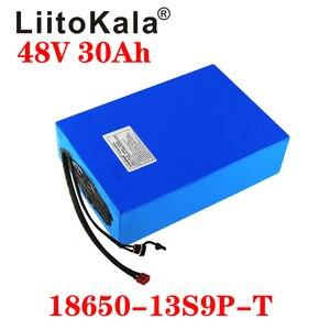 Image 5 - LiitoKala 48v 30ah 48v 1000w סוללה ליתיום יון 48V 30AH חשמלי אופני סוללה תא 48v קטנוע סוללה