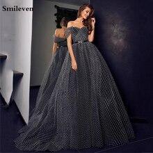 Smileven в горошек из фатина вечернее платье виде сердца свадебное