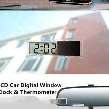 Car Clock Digital Car-Accessories Fahrenheit Car-Styling Celsius