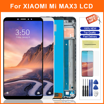 6.9 Lcd For Xiaomi Max 3 Mi Max 3 LCD Display Mi Max3 LCD Display Touch Screen Panel Digitizer Assembly For Xiaomi Max 3 tested 6 44 for xiaomi mi max 3 max3 lcd display touch screen digitizer assembly replacement accessories for mi max3 lcd