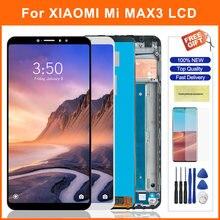 """69 """"ЖК экран для xiaomi max 3 mi ЖК дисплей max3 сенсорный"""
