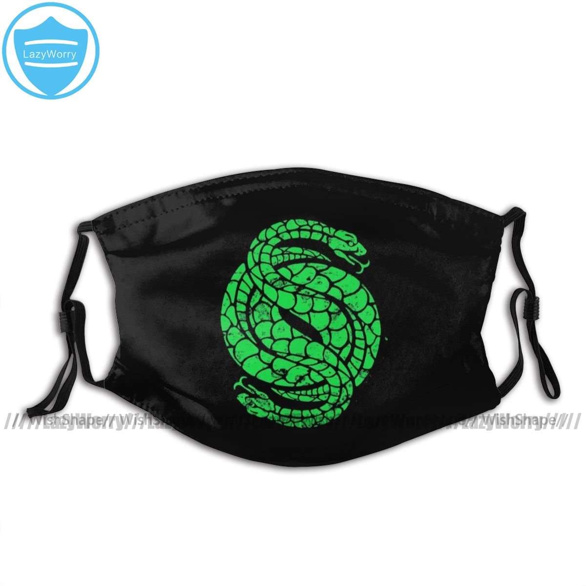 DESTINY 2 Mouth Face Mask Strange Snake Facial Mask Funny Kawai With 2 Filters For Adult