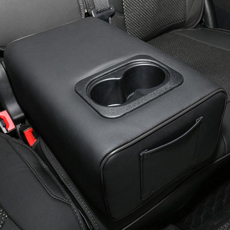 Car Central Box Accoudoirs Sur/él/évation Pad Universal Automobile M/émoire Coton Coussin Accoudoirs Mounted Int/érieur De V/éhicule Accessoires