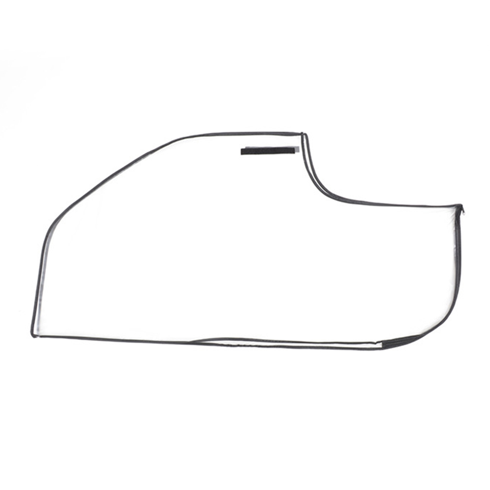 Rain Cover Anti Static Golf Bag Wear Resistant PVC Waterproof Easy Apply Reusable Portable Protective Practical Transparent