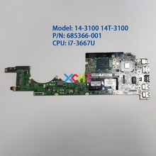 685366-001 DASPSDMBAC0 HM76 w i7-3667U CPU UMA for HP ENVY 14-3100 Series 14T-31