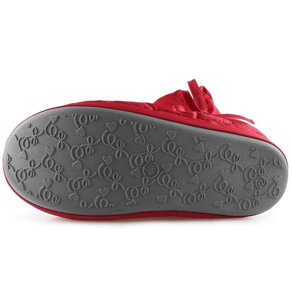 Tasarımcı kadın kış çizmeler bayan ayak bileği botlar su geçirmez kapalı yumuşak taban ev Botas