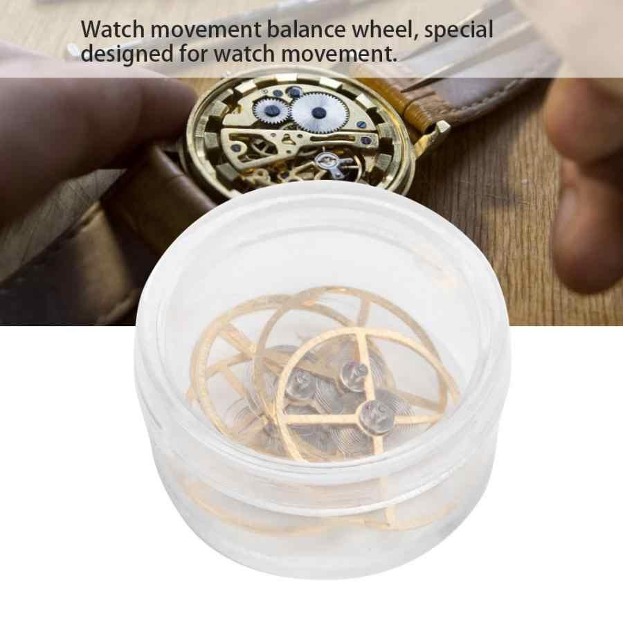 5Pcs Horloge Balans Wiel Repareren Deel Vervanging Accessoire voor 7120 Uurwerk Hoge Kwaliteit Horloge Tool horlogemaker gereedschap c