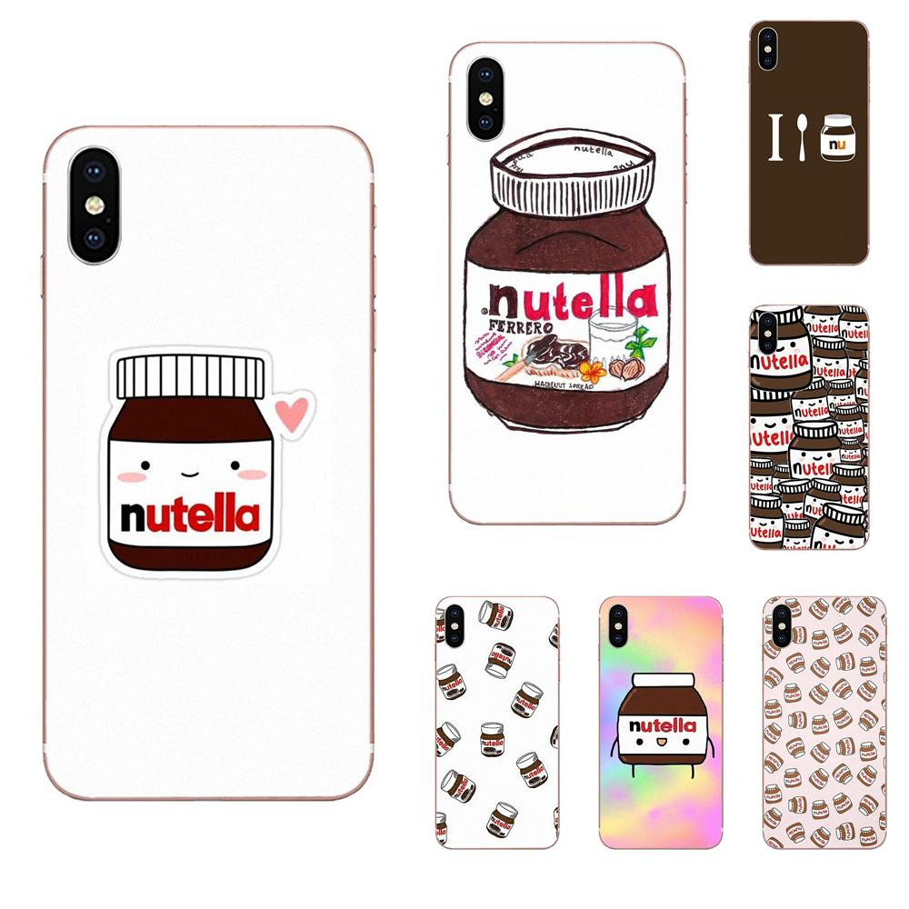 Tumblr Nutella Sweet Cute Funny Joke For LG G2 G3 G4 G5 G6 G7 K4 K7 K8 K10 K12 K40 Mini Plus Stylus ThinQ 2016 2017 2018 image