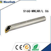 S16Q MWLNR/L06 Nicecutt פנימי הפיכת בעל כלי עבור WNMG להכניס מחרטה כלי מחזיק-בכלי הפיכה מתוך כלים באתר