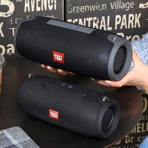 Image 2 - 40W Bluetooth Speaker column Wireless portable sound box Bass stereo subwoofer fm radio boom box tv tf aux usb sound bar for PC