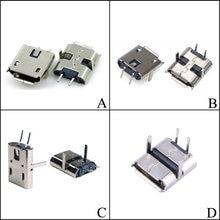 Yuxi usb 90 /180 Степень погружения 2 контактные разъемы микро