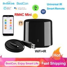 Broadlink BestCon RM4C Mini Universal Wifi IR Smart Remote Smart Home Fernbedienung TV Klimaanlage Über Broadlink APP Alexa