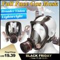 7 In 1 Industrie Malerei Spray Gas Maske Gleiche 6800 Volle Gesicht Chemische Atemschutz Staub Gas Maske
