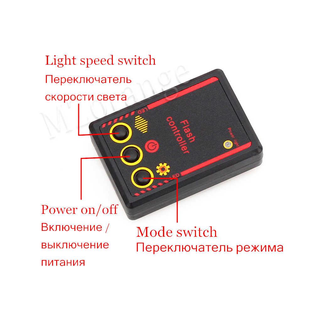 ไฟ Strobe Flasher FSO แฟลชอัตโนมัติไฟตำรวจ stroboscopes FSO แฟลช LED ไฟตำรวจตำรวจ Flasher ฉุกเฉินไฟรถ