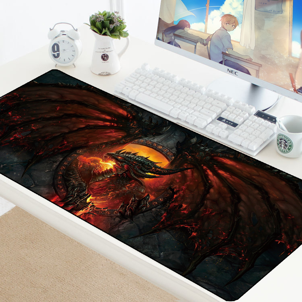 70*30cm Gaming Mouse Pad Large XL Dragon Computer Mousepad XL Rubber DIY Desk Mat For Laptop For LOL Dota 2 Desk Protector Pads
