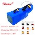 KLUOSI е-байка 36В 10Ah 10S4P е-байка 36В Батарея 42V литиевая Батарея пакет для 250 Вт ~ 750 Вт, фара для электровелосипеда в электрический автомобиль мото...