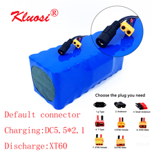 Kluosi 36V 10Ah 10S4P 36V Batterij 42V Lithium Batterij Pack Voor 250W ~ 750W Ebike elektrische Auto Fiets Motor Scoote Met 25A Bms