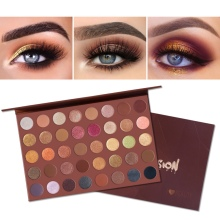 40 Colors Eyeshadow Palette Waterproof Long Lasting Matte Women Gift Multicolor Eye Shadow Cosmetic