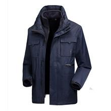 2 pcs Winter jackets Men Camp Softshell Waterproof Jackets Keep Warm Fleece Coat For Hiking Trekking Hunting Skiing