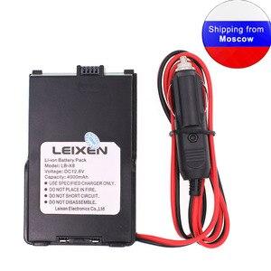 Image 1 - Leixen nota eliminador de bateria para leixen nota 25 w portátil rádio walkie talkie fonte alimentação 12 v carregador de carro