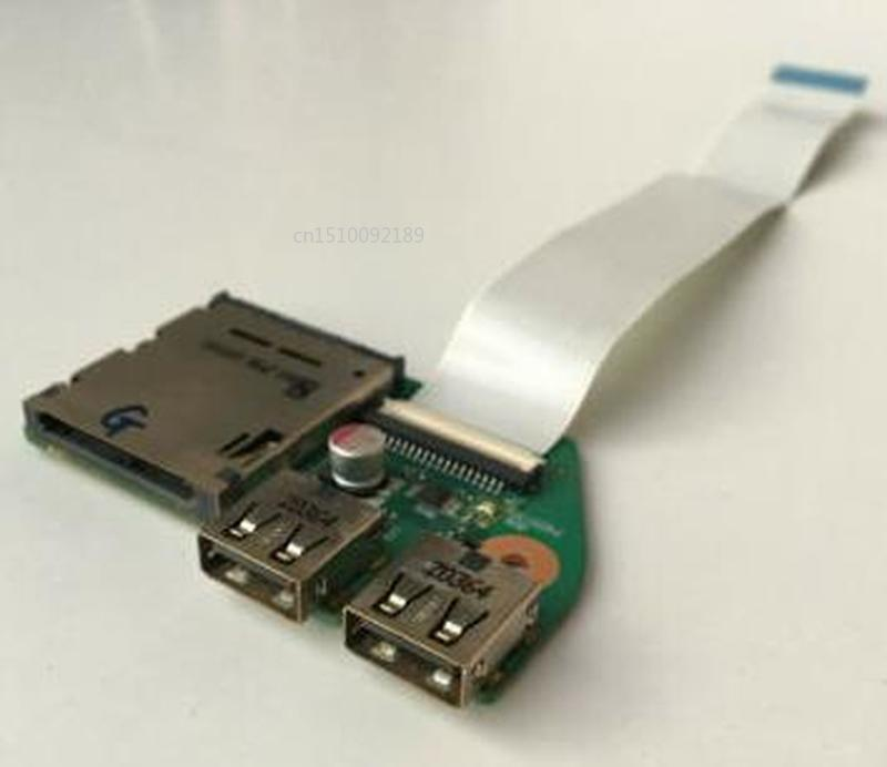 Original For Satellite Pro L650 PSK1KA L655 USB Reader Card Board With Cable 6050A2335001-CARD-A02 Free Shipping