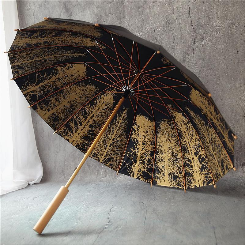 Travel Double Layer Umbrella High Quality Uv Protection Umbrella Rain Windproof Paraguas Plegable Household Products OO50CB