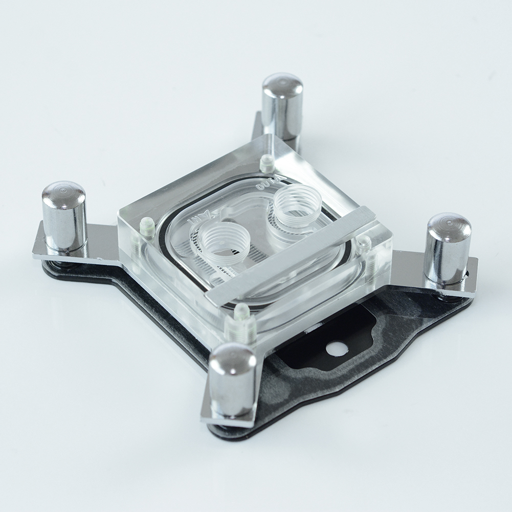 G1/4 Thread Computer GPU Waterblock <font><b>CPU</b></font> Micro Channel Water Cooling Radiator <font><b>Cooler</b></font> for Intel LGA 1150 <font><b>1151</b></font> 1155 1156 Cooling image