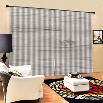 woods curtains  Luxury Blackout 3D Window Curtains For Living Room Bedroom Customized size Drapes Cortinas