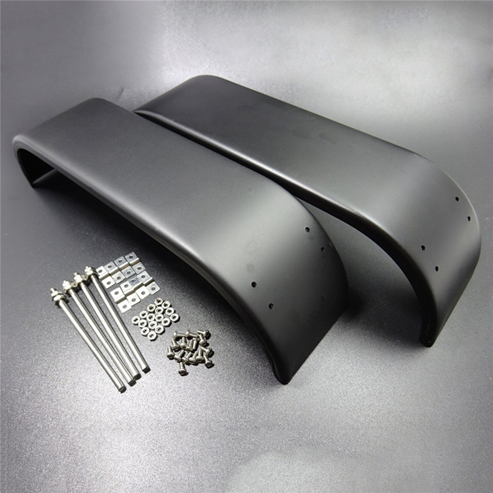 Universal Mud Guard Rear Double Axle Fender for 1/14 <font><b>Tamiya</b></font> Scania Actros MAN R620 3363 1851 <font><b>RC</b></font> <font><b>Truck</b></font> <font><b>Dump</b></font> Car Accessories image