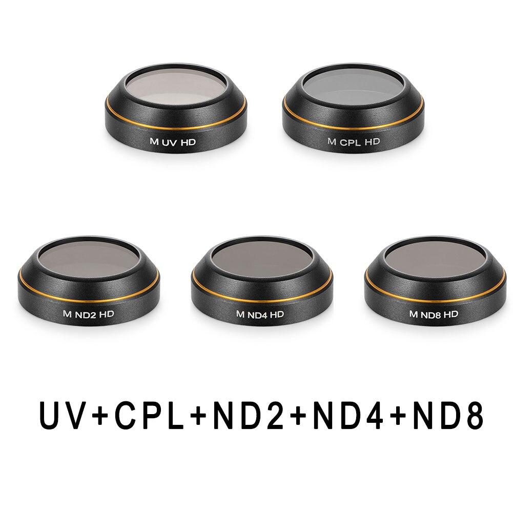 Filtre de caméra pour DJI MAVIC PRO pièces de revêtement dégradé ND gradateur CPL polariser lumière télécommande Drone lentille filtres pièces &