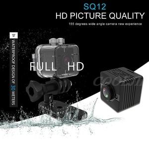 Image 2 - COOLJIER Mini Camera SQ11 SQ12 FULL HD 1080P Night Vision Sport Camcorder SQ13 SQ23 Waterproof Shell CMOS Sensor WIFI Recorder