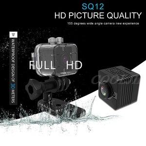 Image 2 - COOLJIER Mini kamera SQ11 SQ12 FULL HD 1080P Night Vision kamery sportowej SQ13 SQ23 wodoodporna powłoka czujnik CMOS WIFI rejestrator