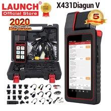 2020เปิดตัวX431 Diagun V Full System Professionalเครื่องมือวินิจฉัยOBD OBD2 Wifiบลูทูธเครื่องสแกนเนอร์รหัสPk Pro Miniเครื่องมือ