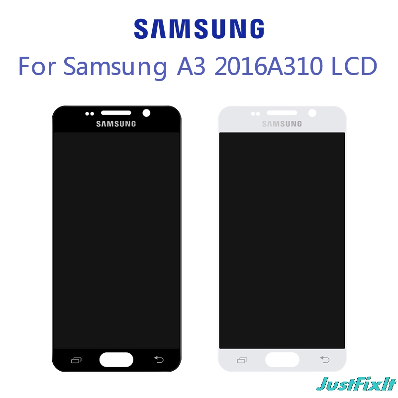 For SAMSUNG Galaxy A3 2016 A310 <font><b>A310F</b></font> SM-<font><b>A310F</b></font> LCD <font><b>Display</b></font> With Touch Screen Digitizer Assembly 100% Tested 4.7'' SUPER <font><b>AMOLED</b></font> image
