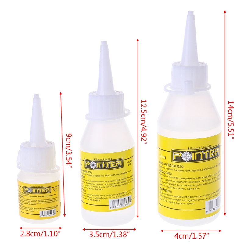 20/50/100ml Liquid Glue Alcohol Adhesive Textile Fabric Stationery Scrapbooking