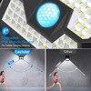 Led Solar Street Light Outdoor luminaire Garden Lights Solar Powered Street Lamp with Motion Sensor Lantern Plaza Wall Lighting discount