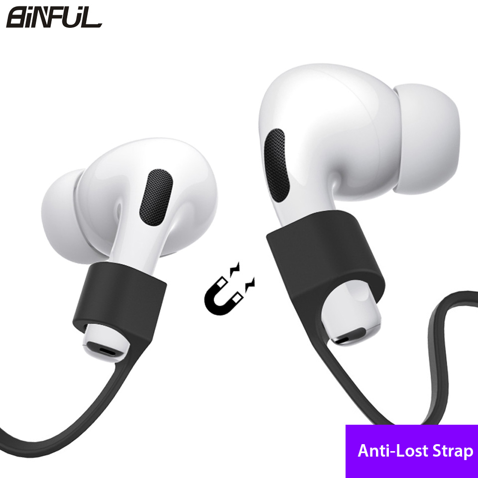 For Apple Airpods Pro Anti Lost Earphone Strap Soft Silicone