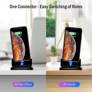 Image 3 - 3 in 1 자기 전화 충전기 홀더 Apple Watch Dock airpod 용 무선 충전기 iPhon 충전 브래킷 용 스탠드 홀더