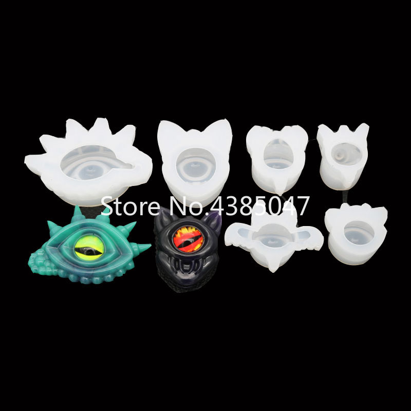 1pc Kinds Of Eyes  Resin Jewelry Molds UV Resin Pendant Mold Jewelry Accessories Tools