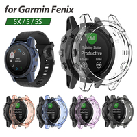 Schutzhülle für Garmin fenix 5 5S 5X Hohe Qualität TPU abdeckung dünne Smart Uhr bumper shell für Garmin fenix5 5S 5X Plus