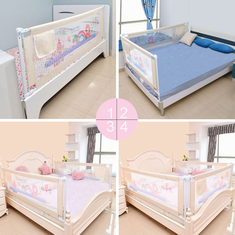 Image 5 - Baby Bed Fence Home Kids playpen Safety Gate Products child Care Barrier for beds Crib Rails Security Fencing Children Guardrail-in Baby Playpens from Mother & Kids
