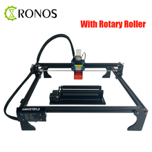Laser Engraver 7/15/20W With Rotary Roller CNC Laser Cutter Engraver DIY Laser Logo Printer For Metal Engraving Machine Tools