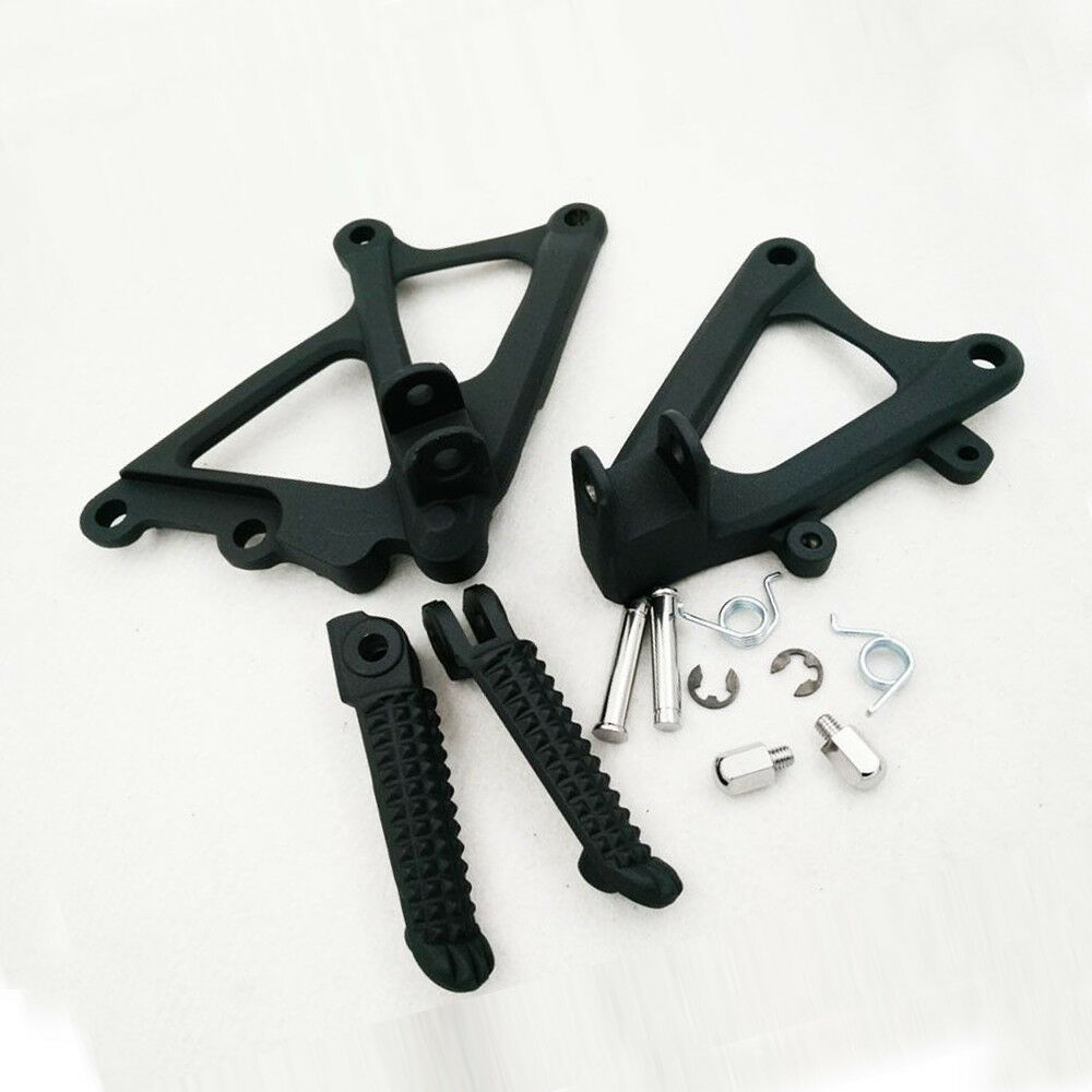 Motorcycle Accessories Front Rider Foot Pegs Pedal Rear Footrests Brackets For Fit YAMAHA YZF R1 2009 2010 2011 2012 2013 2014