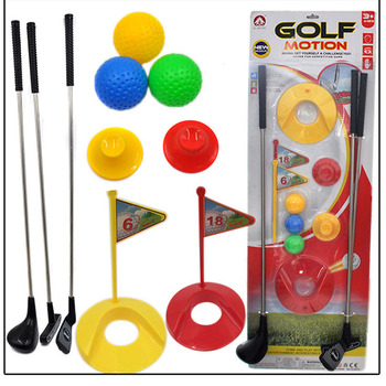 Outdoor Mini Funny Golf Toy Set Kids Learning Active Early Education Sports Game Exercise Ball Toys Boys And Girls Play - discount item  30% OFF Outdoor Fun & Sports