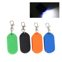 Mini Keychain Flashlight Key Ring Light Torch Light Lamp Outdoor Camping Tool Accessories mini led flashlight light mini key shape keychain lamp torch emergency camping light wwo66