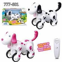 2,4 г пульт дистанционного управления прыгающая собака Многофункциональная игрушка собака Детская игрушка Рождественская игрушка