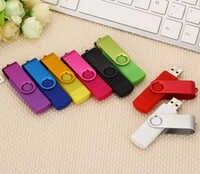 Clé USB multicolore haute vitesse OTG 64gb 128gb stylo lecteur 8gb 16gb 32gb clé usb 2.0 pour téléphone intelligent Micro clé USB
